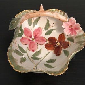 Unusual Italian Hand Made Freeform Dish